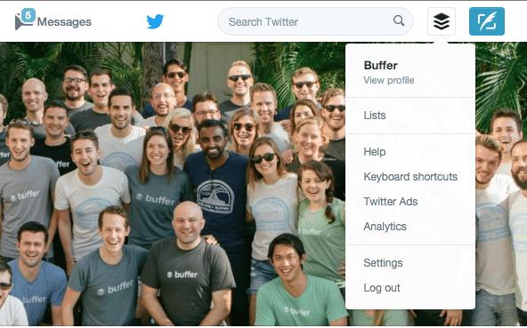Buffer Twitter Analytics Tab