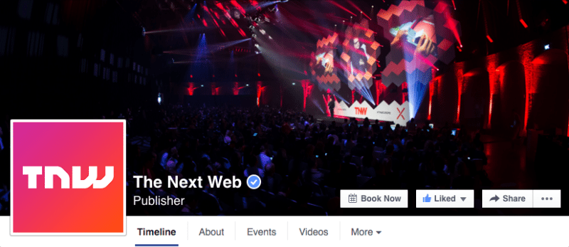 Facebook pages, facebook insights, social media, The Next Web